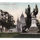 South African Monument Quebec Canada c 1910 Vintage Postcard NM