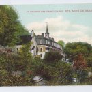 Convent Franciscan Monastery St Anne de Beaupre Quebec Canada c 1910 Vintage Postcard NM