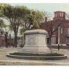 Portland ME Longfellow Monument Portland ME Leighton 9198 ca 1910