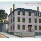 Birthplace of Longfellow Portland ME G. W. Morris ca 1910