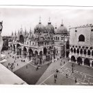 RPPC Venice Piazza S Marco Vintage Postcard Italy