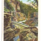 Watkins Glen NY Sentry Bridge Curteich