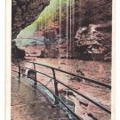 Watkins Glen NY Looking Through Rainbow Falls Tichnor