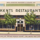 Kents Restaurant Atlantic City NJ Tichnor Linen