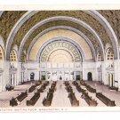 Union Station Washington DC RR Interior RPO 1917