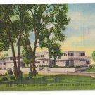 Tam O Shanter Country Club Chicago IL Curteich Linen Postcard