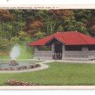 Watkins Glen NY Pavilion Tichnor Vintage Postcard