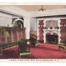 Hotel Dennis Lobby Atlantic City NJ Vintage Kropp Postcard