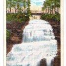 Montour Falls NY Chequaga Falls Curteich Postcard