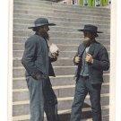 Amish Men Mennonite Lancaster County PA Curteich 1933
