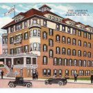 Absecon Hotel Atlantic City NJ Vintage Kropp Postcard