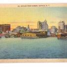 Buffalo NY Skyline from Harbor Linen Metrocraft