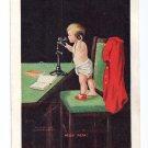 Baby on Telephone Hello Papa Ullman 1907 Alice Lee