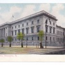 US Mint Philadelphia 1908 Vintage UDB Postcard