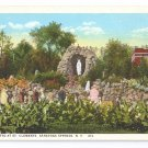 Grotto St Clements Saratoga Springs NY Curteich Postcard
