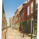 Elfreth's Alley Philadelphia PA Mike Roberts Postcard