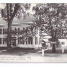 Harriet Beecher Stowe House Brunswick Maine Postcard