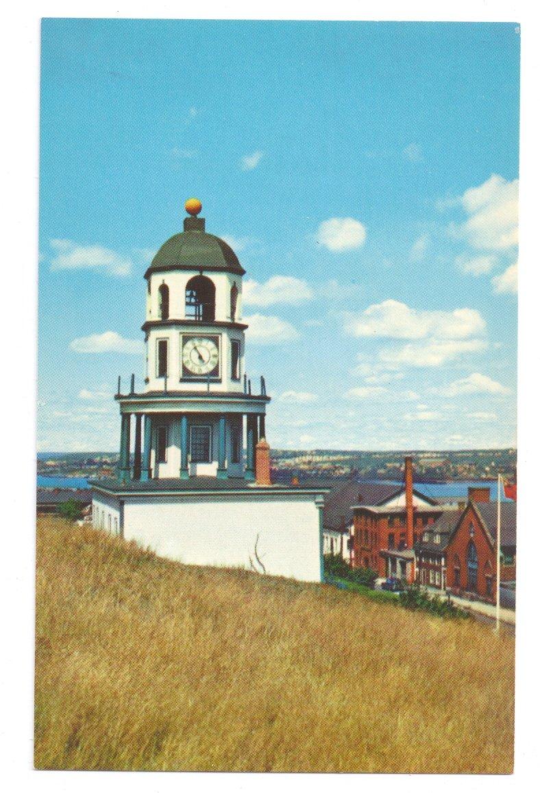 Old Town Clock Citadel Hill Halifax Nova Scotia Canada Postcard