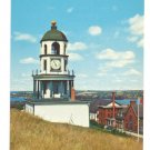Old Town Clock Citadel Hill Halifax Nova Scotia Canada Postcard