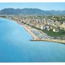 Italy Ceriale Savona Aerial View from East Postcard 4X6