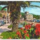 Italy Rapallo Riviera Palms Flowers Postcard 4X6