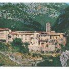 Italy Rome Subiaco St Benedict Abbey Monastery Sacro Speco Postcard