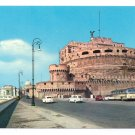 Italy Rome Castle St Angelo Castel Postcard