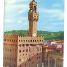 Italy Firenze Palazzo Vecchio Florence Old Palace 4X6 Postcard
