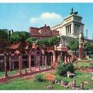 Italy Rome Forum of Julius Caesar Postcard 4X6