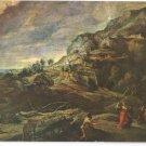 Rubens Painting Ulysses Phaeacians Firenze Florence 4X6 Art Postcard