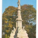 PA Gettysburg Soldiers National Monument Civil War Postcard