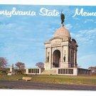PA Gettysburg Pennsylvania State Memorial Civil War Postcard