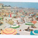 Ocean City NJ Beach Bathing 1962 Postcard