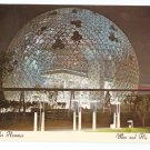Montreal Canada Biosphere Expo 67 Chrome Postcard
