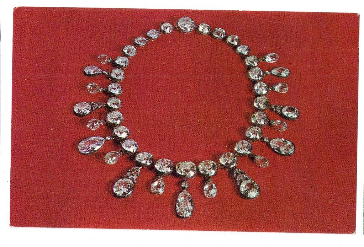 Diamond Necklace Jewelry Gems Bonaparte Empress Smithsonian Washington DC