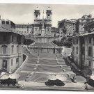 RPPC Italy Rome Spanish Steps Keats Memorial House Postcard