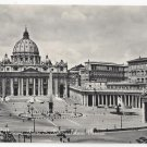 RPPC Italy Rome Vatican St Peters Square Piazza