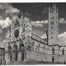 RP Italy Siena Cathedral Medieval Church Real Photo Post Card