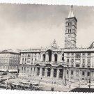 RP Italy Rome Basilica Maria Maggiore Cathedral Church Real Photo