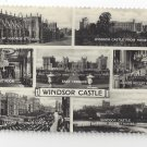 RP UK Windsor Castle Multiview Great Britain Valentine's Real Photo