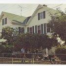 Tangier Island Crockett Chesapeake Guest House VA Vintage Postcard