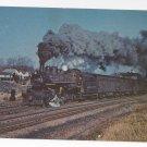 Train Railroad Postcard Delaware & Hudson 500 Steam Locomotive