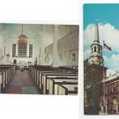 Christ Church Philadelphia PA (2) Vintage Postcards