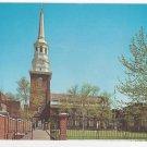 Christ Church Philadelphia PA Side Entrance Vintage Postcard Walter Miller