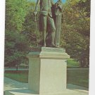 Valley Forge PA George Washington Statue Vintage Postcard