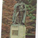 Valley Forge PA Baron Von Steuben Statue Vintage Postcard