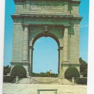 Valley Forge PA Memorial Arch Vintage Postcard National Park