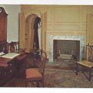 Valley Forge PA Reception Room Washingtons Headquarters 1964 Vintage Postcard