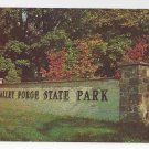 Valley Forge PA Gateway National Historical Park Vintage Postcard