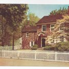 Valley Forge PA Washingtons Headquarters Vintage Postcard